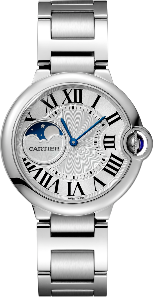 Ballon Bleu de Cartier watch37 mm, steel