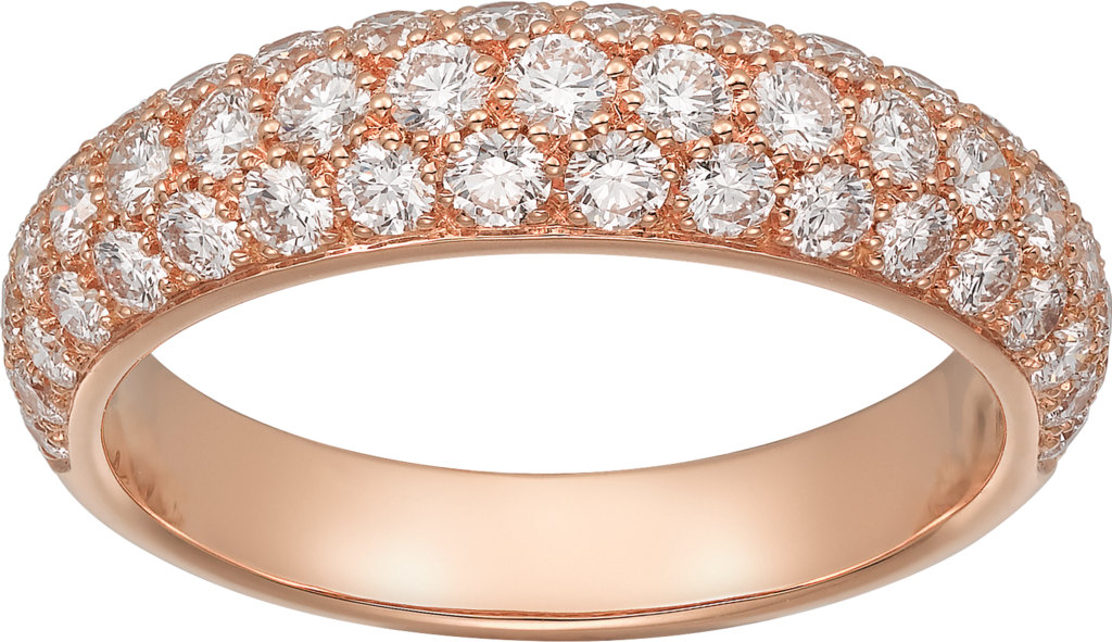 Bague Etincelle de Cartier PMOr rose, diamants