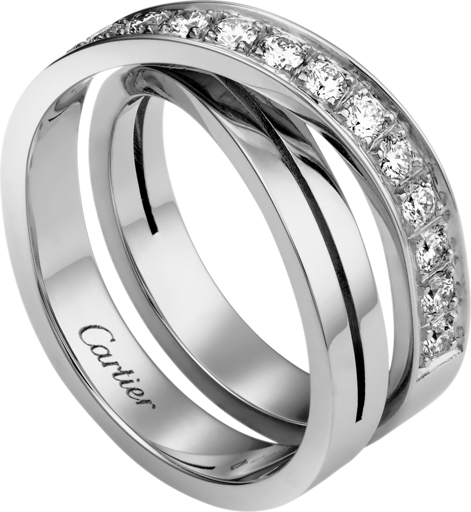 Bague Etincelle de CartierOr gris, diamants