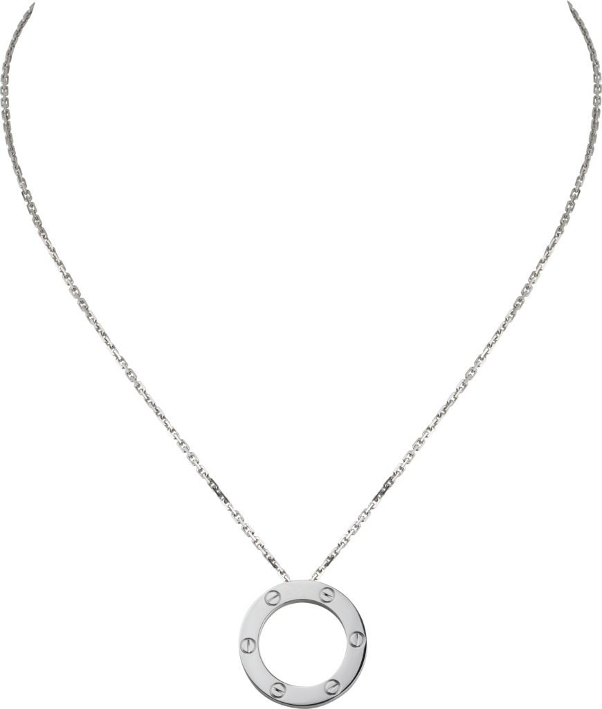 Collier LoveOr gris