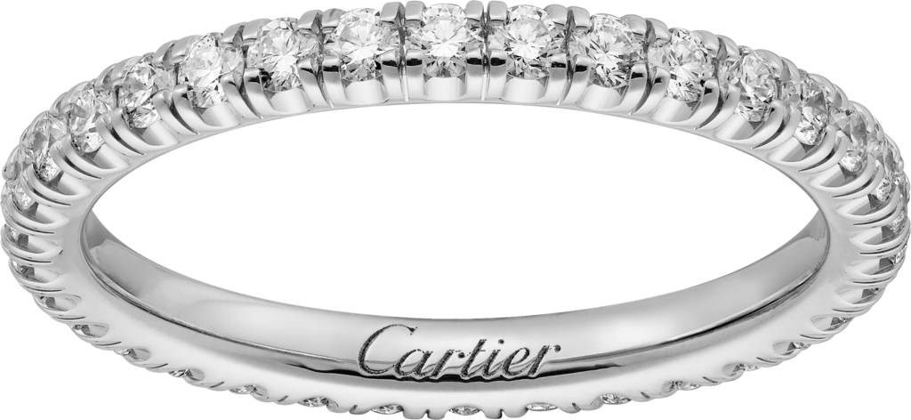 Étincelle de Cartier wedding bandWhite gold, diamonds