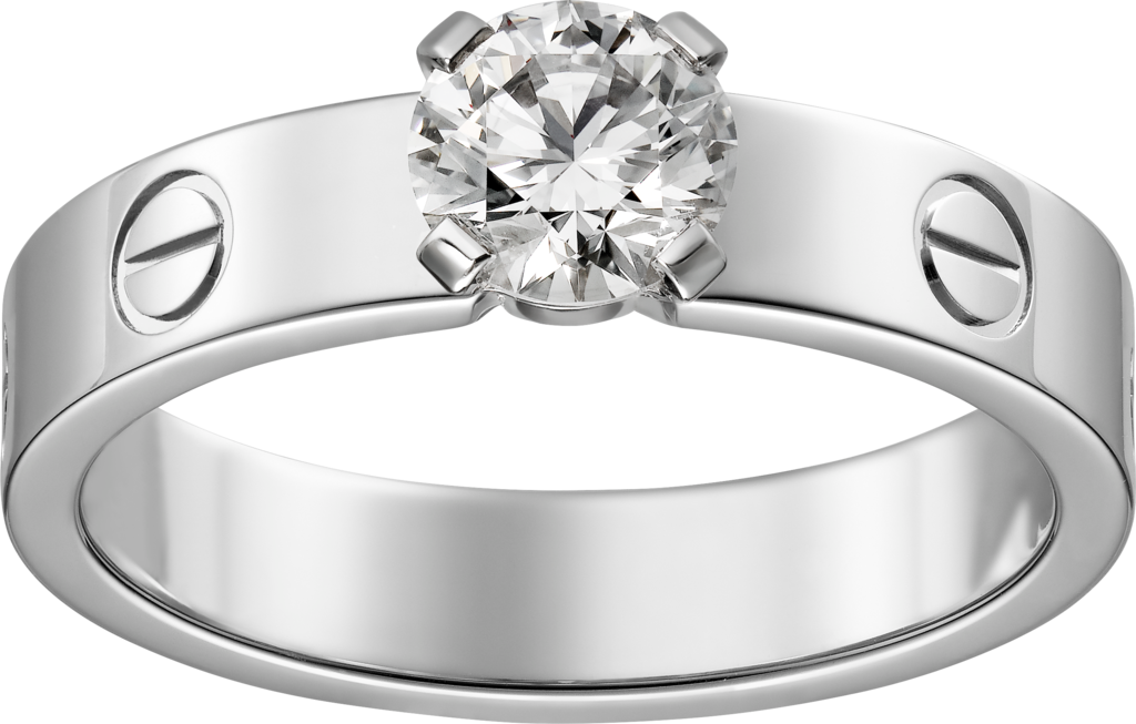 Love SolitaireWhite gold, diamond